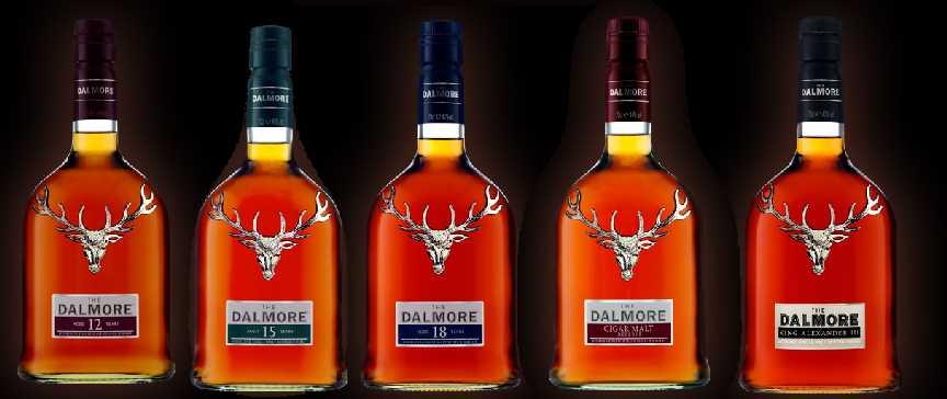 Dalmore Lineup